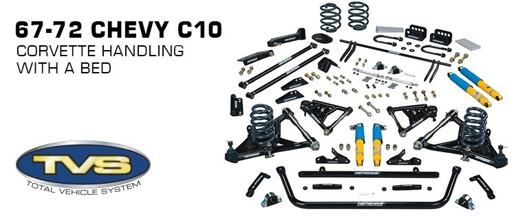 Hotchkis Chevrolet Chevy C10 C-10 C20 C-20 1967 1968 1969 1970 1971 1972 Pickup Suspension Kit Package Total Vehicle System TVS