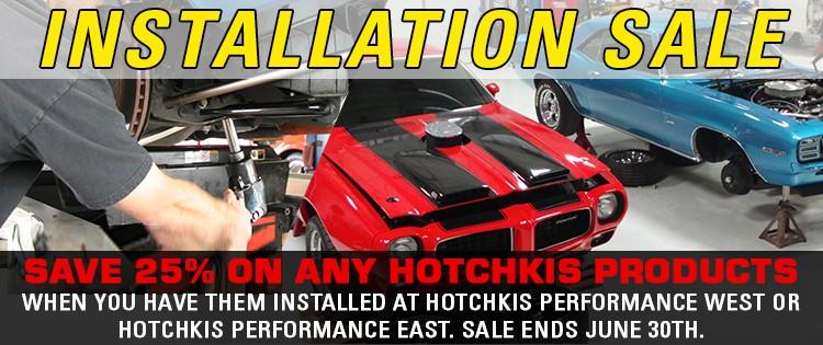 Hotchkis Installation Sale