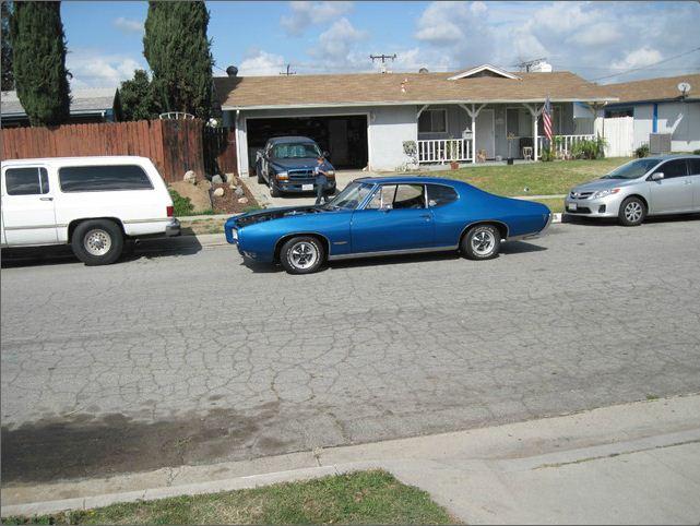 Greg Blacks 68 Pontiac GTO