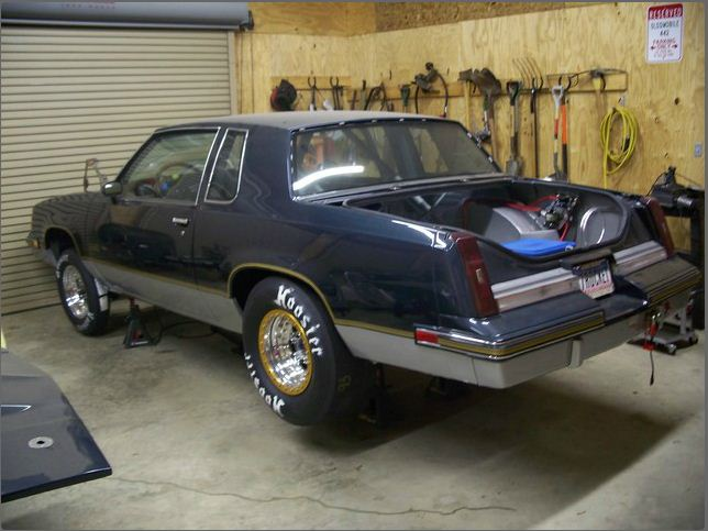 Mike\'s 87 Olds G-Body, in the works!