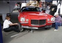 Mary Pozzi's '73 Camaro
